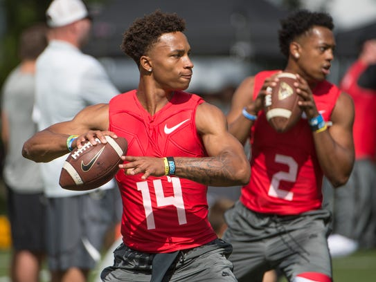 In-depth look at the quarterbacks in this year's Elite 11 ...