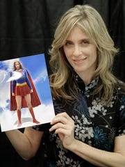 Actress Helen Slater at the Big Apple Comic Con in