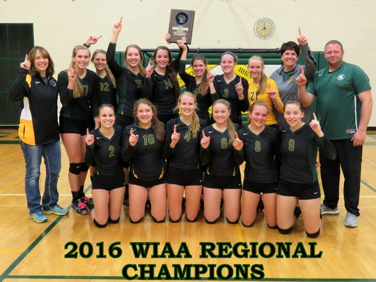 The Wittenberg-Birnamwood volleyball team won just its second regional title this year and now the Chargers eye their first state trip in program history.