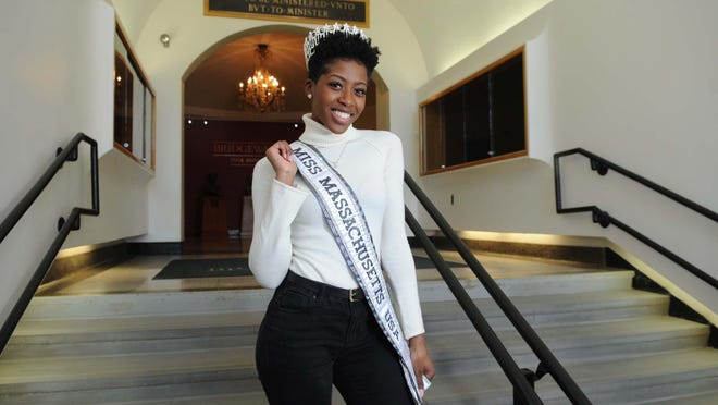 Brockton native Sabrina Victor pictured on Jan. 17, 2020, the week that she was crowned Miss Massachusetts USA. She will leave this weekend to compete in the Miss USA competition in Nashville, Tennessee, that will air on Nov. 9, 2020.