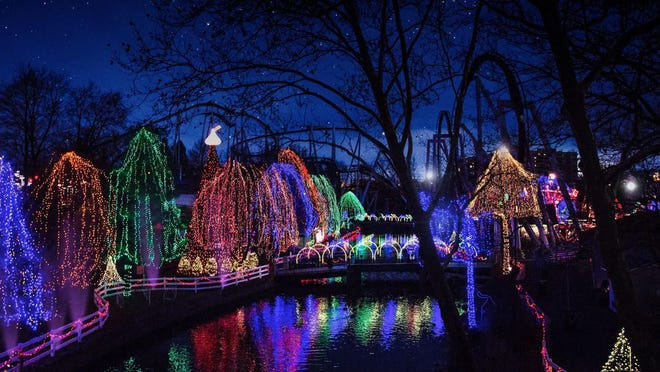 There will be a lot of twinkling lights at Hershey Park's Christmas Candylane.