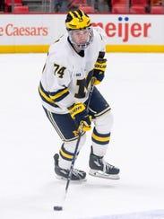 Michigan junior defenseman Nick Boka is looking forward
