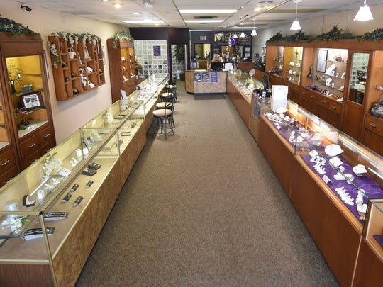 Miller's Diamond Jewelry has a large selection of jewelry, watches and collectibles at their store in the Appleseed Shopping Center.