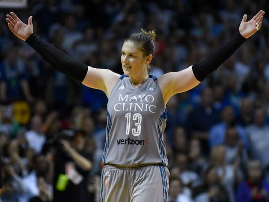 AP WNBA FINALS BASKETBALL S BKL USA MN