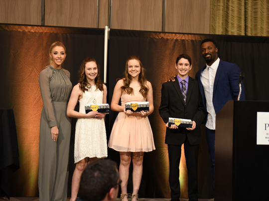 Olivia Harlan and former Green Bay Packer James Jones hosted the first Gold Ribbon Gala for the Children's Cancer Fund Foundation. The event raised around $100,000 for the organization.