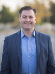 San Jacinto City Council member Andrew Kotyuk, a candidate