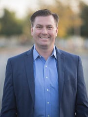 San Jacinto City Council member Andrew Kotyuk, a candidate for the California 42nd Assembly District.