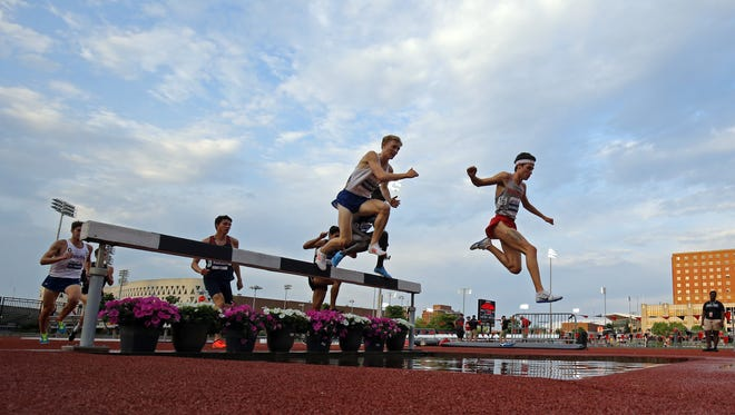 CINCINNATI, OH – MAY 12: Day two of the American Athletic Conference 2018 Outdoor Track & Field Championships at Gettler Stadium. (Photo by Aaron Doster/American Athletic Conference)