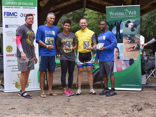 The Corporate Cup Challenge's co-ed winning team.