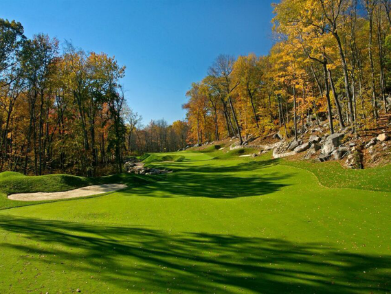 Pound Ridge Golf Club is a unique challenge, a modern design in a region with so many traditional courses.