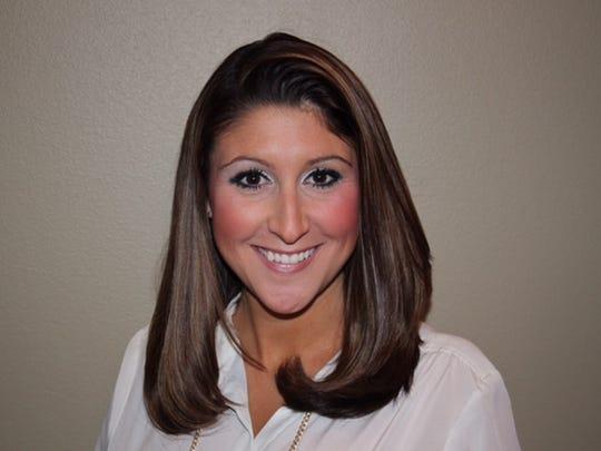 Caddo's Middle School Teacher of the Year Kristin Hudson.