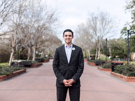 Molina's experience as an orientation leader gave him a unique perspective on FSU and solidified his desire to truly affect campus.