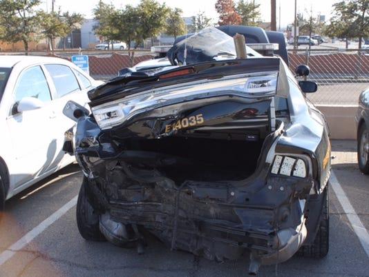 Crashed-Patrol-Car
