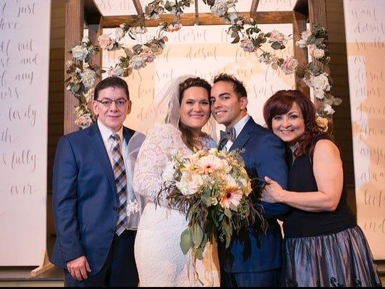 Paul and Alma Matta, of Abilene, celebrate the marriage