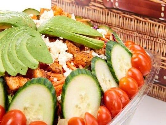 A farmer's market salad from Rubicon Deli