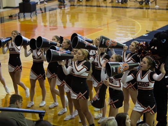 The Orange Grove High School cheer team will perform