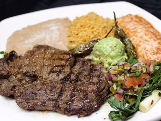 The Camarillo Restaurant Week special at Que Pasa Mexican Cafe & Tequila Bar will include a house margarita, a choice of soup or salad and an entree that features a 10-ounce rib steak with a cheese enchilada.