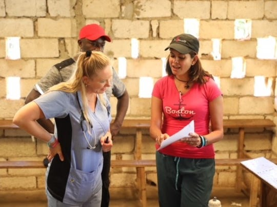 """""""When I tell my patients what I did in Haiti and why,"""