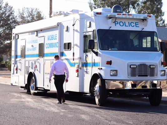 Phoenix police officer shoots armed man