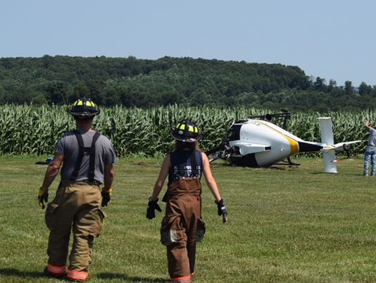 N. Hopewell helicopter crash 7/14 2