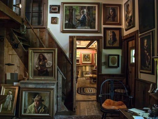 James J. Ingwersen's studio.