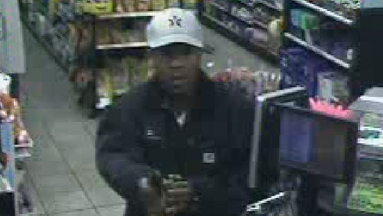 La Vergne police say this man robbed the Mapco gas station on Waldron Road Wednesday, Nov. 9.
