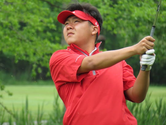 Bergen Catholic senior Chris Lee is tied for fourth