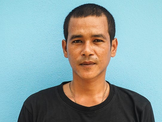 Promphong Waitanyakarn, 30, a ranger at Huai Kha Khaeng
