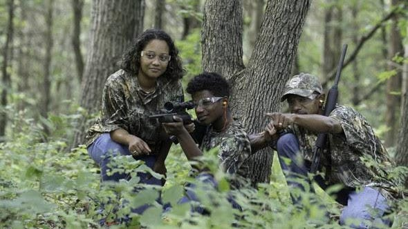 A family participates in squirrel hunting. The Missouri Department of Conservation is offering a class in squirrel hunting and a mentored hunt in Boone County.