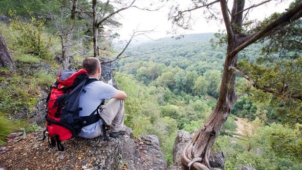 Backpack camping is a portal to adventure amid scenic places. MDC will offer a free online virtual backpack camping session on Jan. 22.