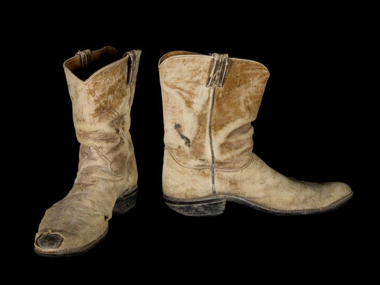 Burning Man Founder Michael Mikel's Boots, 1990