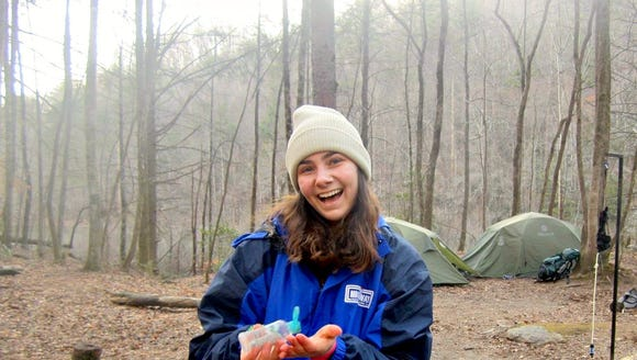Maddie Crocenzi on a seven-day spring break backpacking