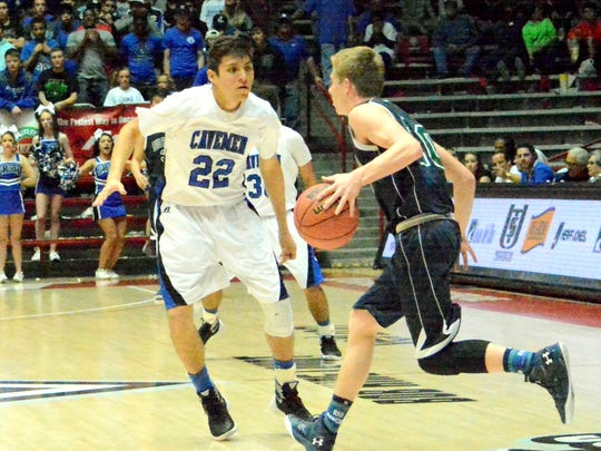Carlsbad squares off against Rio Rancho in Saturday's U.S. Bank 6A state tournament championship game.