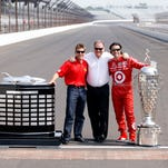 Scott Dixon, left, has won  four IndyCar Series championships for owner Chip Ganassi, right, since 2002.