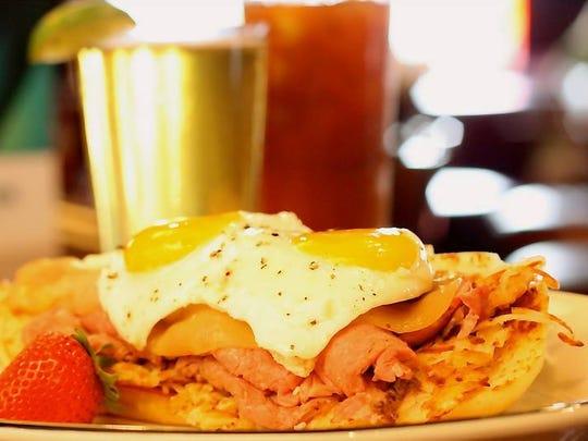 "Blackfinn Ameripub serves brunch until 3 p.m. on weekends - along with a ""liquid brunch."""