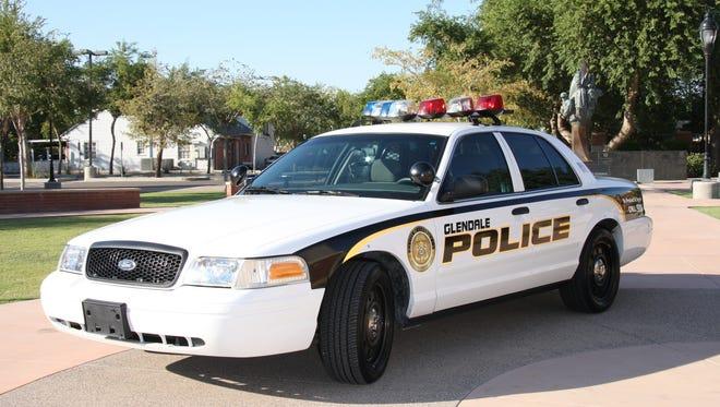 Glendale Police Department police car.