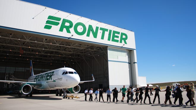 Frontier Airlines is offering $19 flights at CVG today.