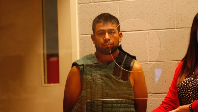 Bonifacio Oseguera-Gonzalez was arraigned Tuesday in Marion County Court