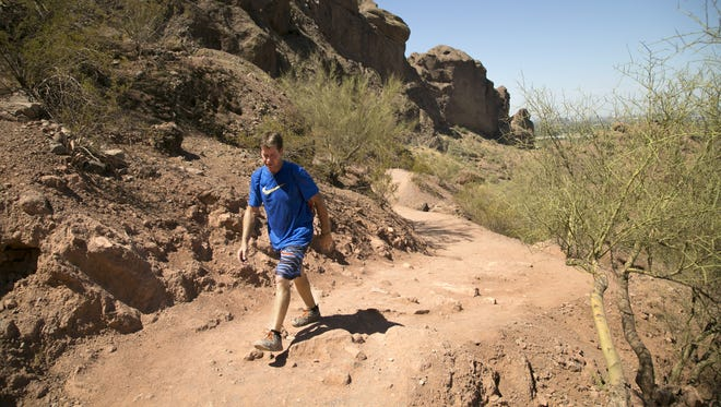 Hikers who regularly use two trails on Camelback Mountain will no longer be able to bring their dogs.