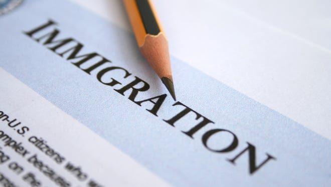 Immigration application form