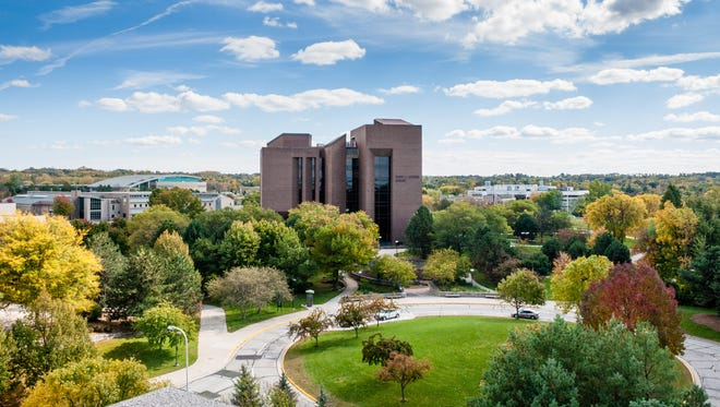 The David A. Cofrin Library on the University of Wisconsin-Green Bay campus