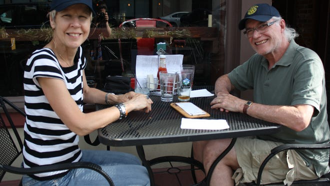 Susan and Sal Paredez dined at The Colonial in Binghamton on June 26 during Happy Hour.