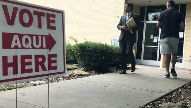 Early voting began Monday for the May 1 elections taking place in Bastrop County.