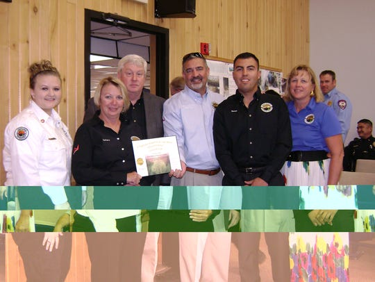 Employees of Ruidoso's municipal airport were recognized