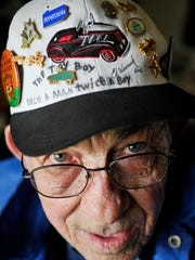 Clarence Zeigler, 76 of Jackson Township, has collected pedal cars for about 30 years and began restoring them in 1997.
