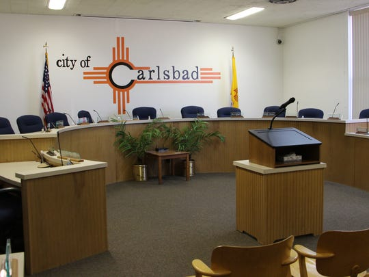 Carlsbad city council chambers.