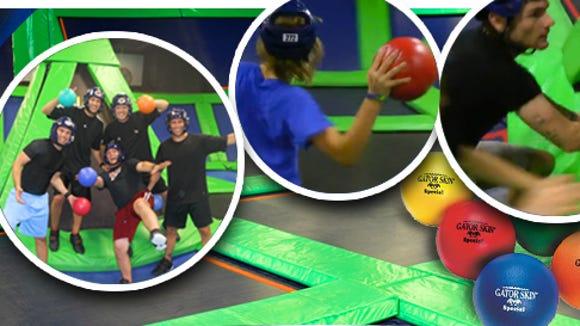 Air dodgeball