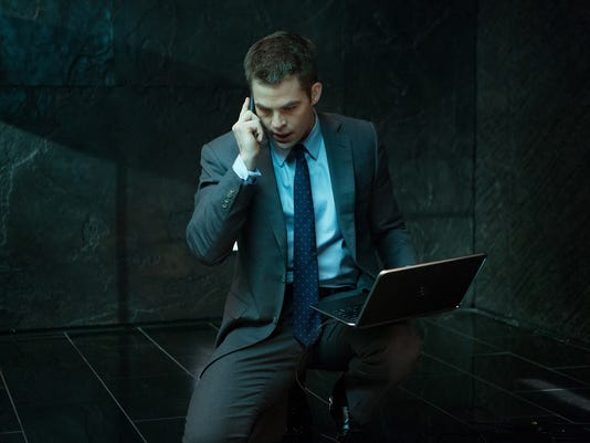 Chris Pine as Jack Ryan