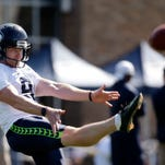 For a punter, Seattle's Jon Ryan getting plenty of attention