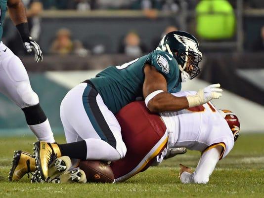 USP NFL  WASHINGTON REDSKINS AT PHILADELPHIA EAGLE S FBN PHI WAS USA PA c31f0044b